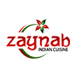INDIAN takeaway Capel Saint Mary IP9 Zaynab Indian Cuisine logo